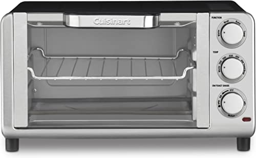 2021 Cuisinart TOB-80 Compact outlet online sale Toaster new arrival Oven Broiler outlet online sale
