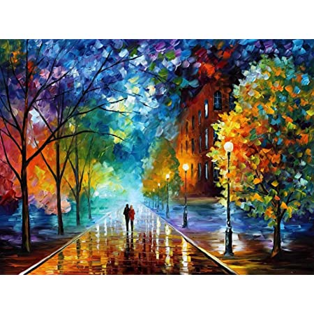 """Paint by Numbers DIY Painting Kit for Adults Beautiful Seaside 16/""""x 20/""""on Canvas Without Frame"""
