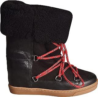 ISABEL MARANT ÉTOILE Luxury Fashion Womens BO027519A031S01BK Black Ankle Boots | Fall Winter 19