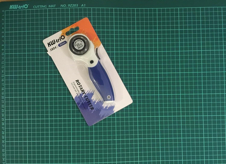 Kw-trio Schneidematte A1 selbstheilend Grid Schneidematte rutschfeste Messer Board  kw-trio 45 mm Rollenschneider B017GC6GEI       Verschiedene Arten Und Die Styles