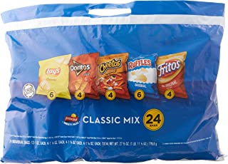 Lay's Variety Pack Classic Mix Crackers, (Pack of 24)