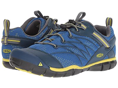 Keen Kids Chandler CNX (Little Kid/Big Kid) (Blue Opal/Baleine) Boys Shoes