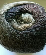 Alpaca Active Beige 'n Brown - Acrylic Alpaca Wool, Fine Sport Weight Yarn, 100 Gram