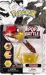 Pokemon Pop 'n Battle Launcher with Attack Target B&W Series #1 Pikachu