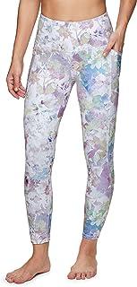 RBX Active Women's Plus Size Ankle/Full Length Super Soft Printed Yoga Leggings