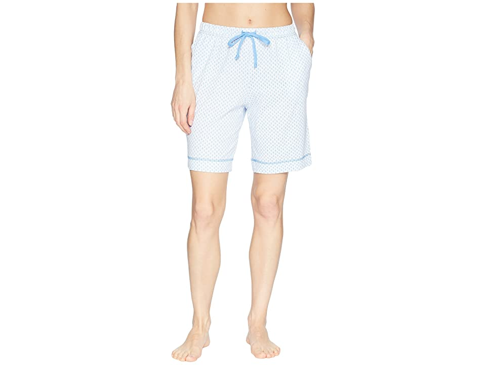 Nautica Printed Bermuda Shorts (White Ditsy) Women