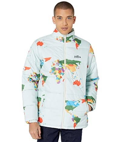 Vans Save Our Planet Puff Jacket (Blue Save Our Planet) Men