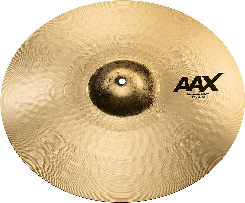Sabian Crash Cymbal AAX Max 73% OFF Outlet ☆ Free Shipping Medium Brilliant 20