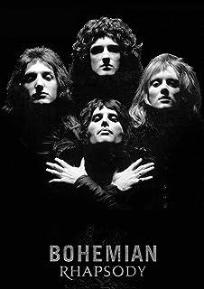 PostersNPrints Freddie Mercury 25 260 gsm Photo Poster A3