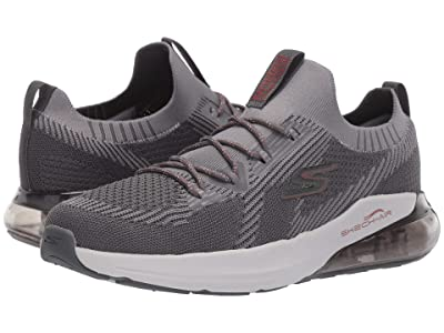 SKECHERS Go Run Air (Charcoal/Red) Men