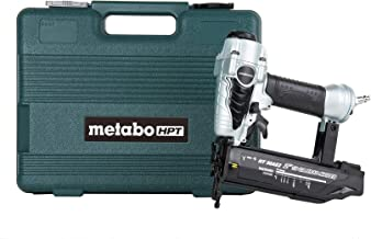 Metabo HPT Brad Nailer, Pneumatic, 18 Gauge, 5/8-Inch up to 2-Inch Brad Nails, Tool-less..
