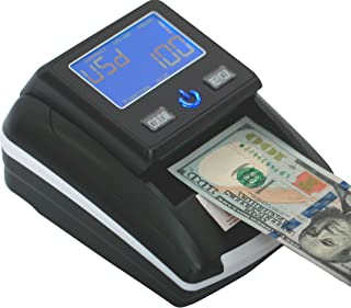 Portable 4 Way Insertion Counterfeit Bill Detector&Counter with Battery