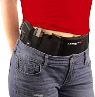 ComfortTac Ultimate Belly Band Gun Holster for Concealed Carry | Compatible with Smith..