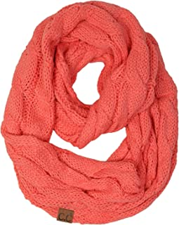 Best coral infinity scarf Reviews