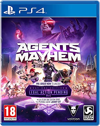 Agents Of Mayhem Day One Edition PS4 Game