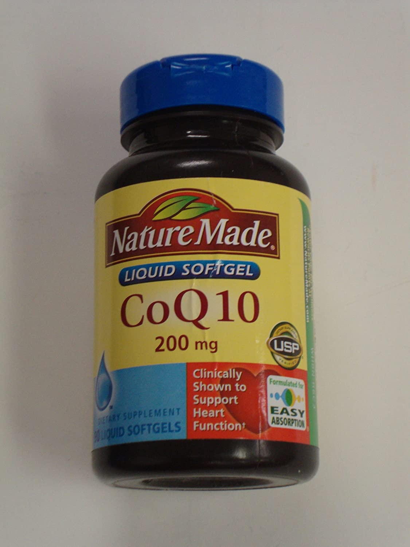 half Nature Made CoQ10 Coenzyme Q10 mg Max 56% OFF Softgels 90 200 -