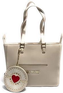 Love Moschino Womens Shopper Hand Bag, Ivory - JC4103PP1ALQ1