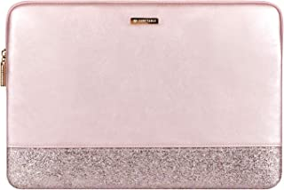 Comfyable Glitter Laptop Sleeve for 13-13.3 Inch MacBook Air and MacBook Pro, Rose Gold Pink Mac Cover Case