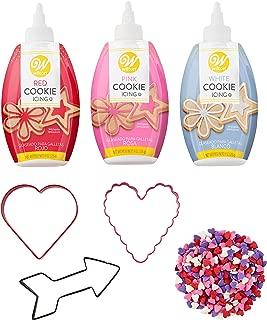 valentine cookie decorating kit