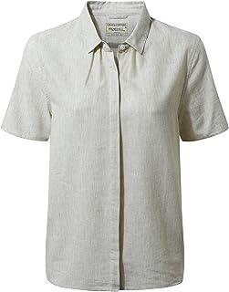 Craghoppers 女式 Natalie 短袖衬衫