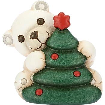 Albero Di Natale Thun Prezzo.Thun Orso Polare Con Albero Di Natale Formato Piccolo Ceramica 11 2x9 1x10 8 Cm H Amazon It Casa E Cucina