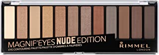 Rimmel London, Magnif'Eyes Eye Contouring Palette, 01 Nude Edition, 14.2 g