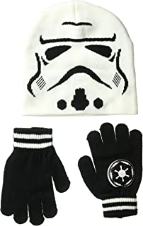 Star Wars Boys' Storm Trooper Winter Beanie & Glove Set