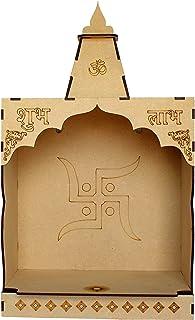 ESPLANADE DIY MDF Tempel Puja Mandir Tempel voor Home Shop Office | Bouw je eigen Mandir | Pooja Artikelen