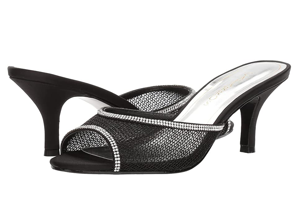 Caparros Mambo (Black/Clear Mesh) Women