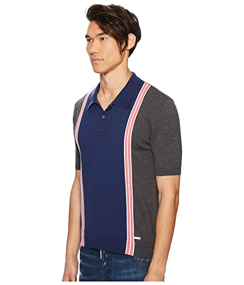Striped Striped Striped Polo Sweater Polo Sweater Sweater DSQUARED2 DSQUARED2 DSQUARED2 Polo Striped DSQUARED2 pqwx6F