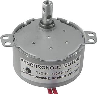 TYD-50 Synchronous Motor 110V AC 8-10RPM CW/CCW Permanent Magnet Motors