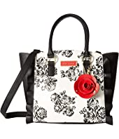 Betsey Johnson - Leather & Lace Satchel
