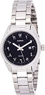 Casio Women's Quartz Watch, Analog Display and Stainless Steel Strap