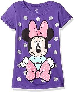 1cc85236bd46 Disney Girls' Minnie Mouse Short Sleeve T-Shirt