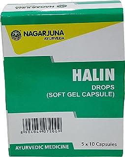Nagarjuna Kerala Halin Drops Soft Gel Capsule 50 Tab x Pack van 2