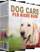 Dog Care Niche Blog PLR Template with Private Label Rights