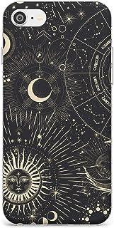 Case Warehouse Sun & símbolos astrológicos Slim Funda para iPhone 7 Plus TPU Protector Ligero Phone Protectora con Zodíaco...