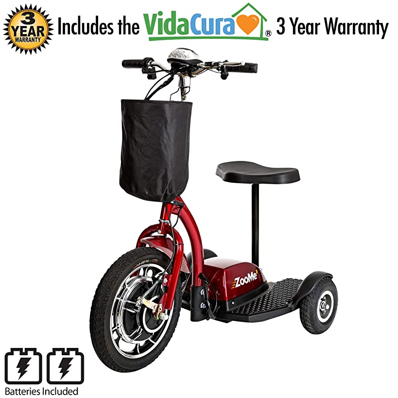 Drive Medical ZooMe 3-Wheel Recreational Scooter Including 3 Year Extended Warranty