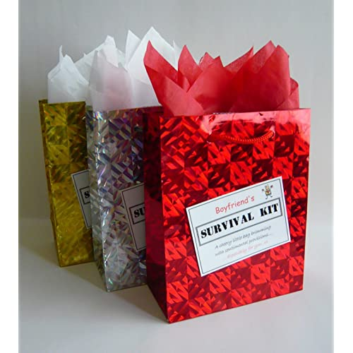 Boyfriend Survival Kit Novelty Gift Idea Fun Present For All Occasions Birthday