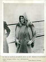 Vintage photo of Queen Elizabeth, RMS Empress of Australia