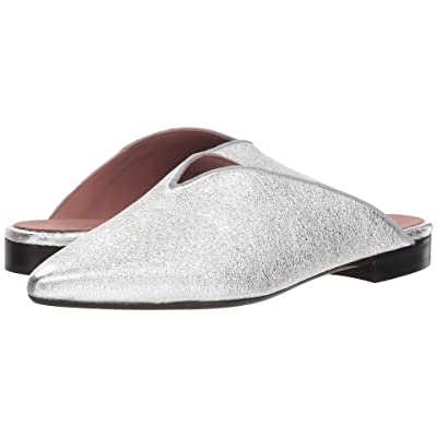 Summit by White Mountain Katniss Mule (Silver Metallic Leather) Women