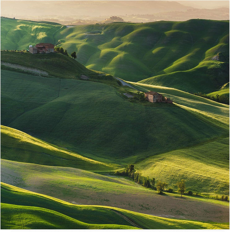 Trademark Fine Art Green Square by Jarek Pawlak, 14x14