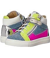 Giuseppe Zanotti Kids - Ares Denim Sneaker (Toddler)