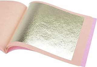 Genuine Gold Leaf Sheets 18k - by Barnabas Blattgold - 3.1 inches - 25 Sheets Booklet - Loose Leaf