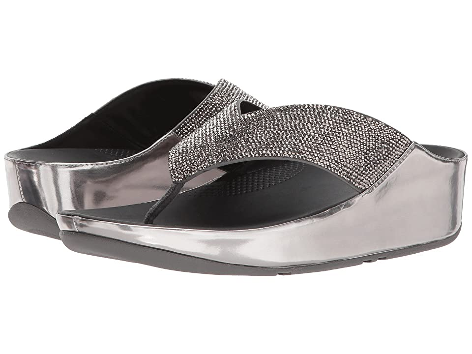 FitFlop Crystall (Metallic Pewter) Women