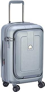 Delsey Paris Grenelle 55 cm 4 Double Wheels Cabin Expandable Carry-On (Hardside), Platinum (00203980111)