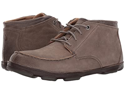 OluKai Hamakua (Storm Grey/Dark Wood) Men