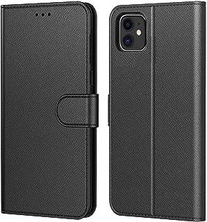 AURSTORE Etui Coque pour iPhone 11 2019 (6,1 Pouce), Protection Housse en Cuir PU Pochette,[Emplacements Cartes],[Fonction...