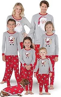 Christmas Pajamas for Family - St. Nick Christmas PJs, Red