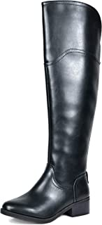 Best womans high black boots Reviews